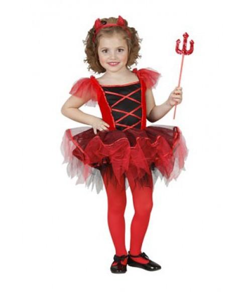Costume Halloween - Diavolita 3-4 ani