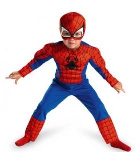 Spiderman cu masca, 3 ani