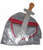 Costum cavaler medieval / print NOU