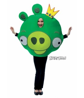 Costum King Pig, Angry Birds
