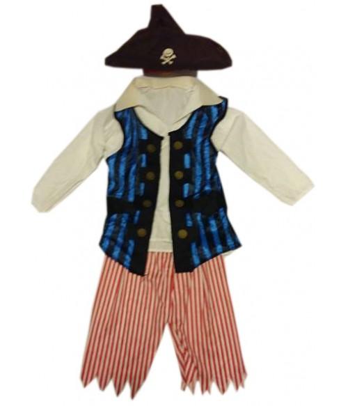 Costum pirat 6-8 ani