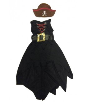Costum piratesa 8-10 ani