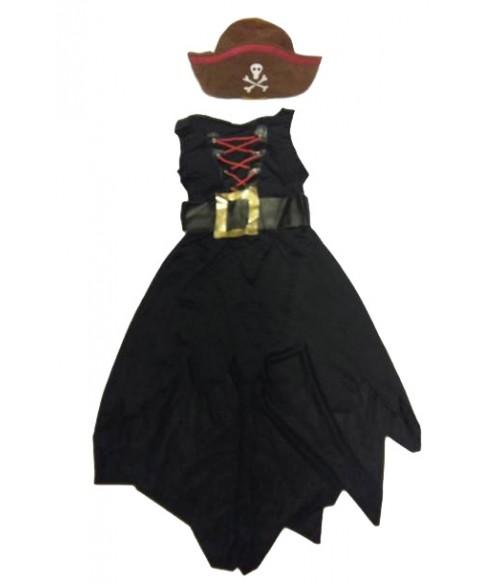 Costum piratesa 8-10 ani