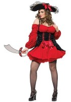 Costume halloween  - Piratesa Plus size XXL