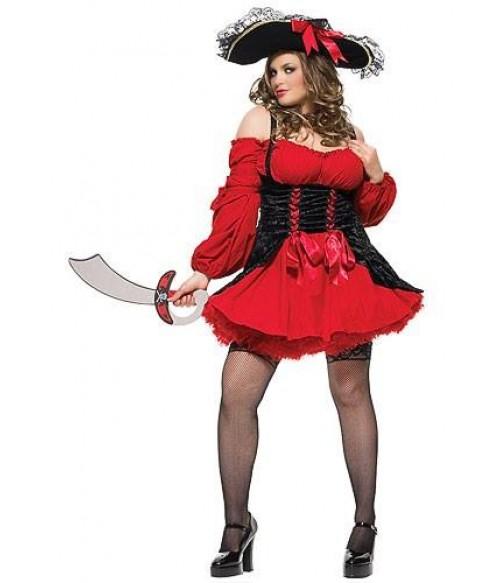 Costum piratesa adulti