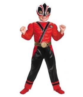 Costume Halloween, Power Rangers cu muschi, 2-4 ani