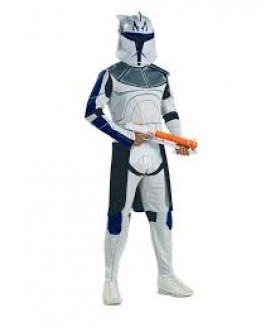 Costume Halloween, STar Wars - Capitanul Rex, adulti