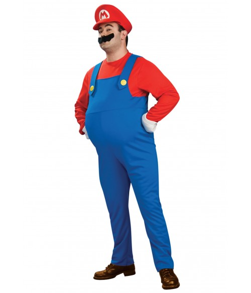 Costum Super Mario adulti