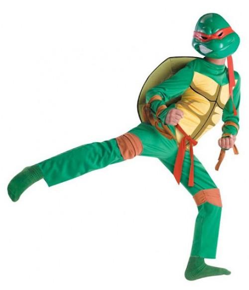 Costum testoasa ninja, 4-6 ani